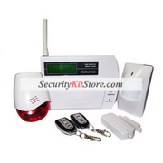 wireless/wired 868Mhz alarm system with CE lable