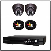Cctv Installation Security Camera x2 back&front Recorder 500Gb.