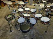 Roland TD-30KV-S V-Pro Electronic Drum Kit, NEW 5 PC YAMAHA BIRCH CUSTO
